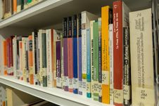 Free Library, Public Library, Shelving, Bookcase Stock Photos - 134700693