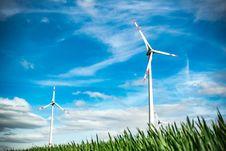 Free Wind Turbine, Wind Farm, Sky, Energy Stock Photos - 134701233