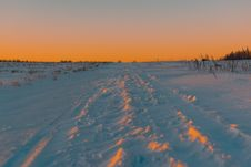 Free Photography Of Snow During Golden Hour Stock Photo - 134722260