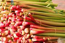 Free Natural Foods, Vegetable, Local Food, Rhubarb Stock Photos - 134764853