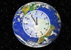 Free Clock, Earth, Planet, Atmosphere Royalty Free Stock Image - 134765456
