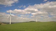 Free Wind Turbine, Grassland, Wind Farm, Field Royalty Free Stock Images - 134765659