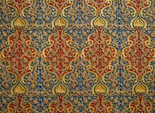 Free Pattern, Textile, Tapestry, Design Royalty Free Stock Photography - 134765847