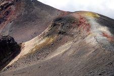 Free Etna Volcano Stock Photography - 13487442