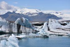 Free Glacial Lake, Glacier, Arctic, Glacial Landform Stock Photography - 134860012