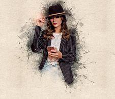 Free Fashion Model, Outerwear, Winter, Girl Stock Photo - 134860110