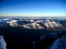 Free Aerial Photo Of Snow Capped Mountains Stock Photos - 134879613