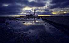 Free Lighthouse Under Gray Clouds Royalty Free Stock Photo - 134879675