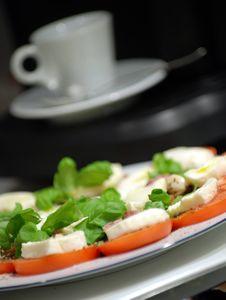 Free Tomato Mozzarella Royalty Free Stock Photo - 13490825