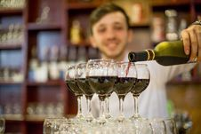 Free Drink, Alcoholic Beverage, Wine Glass, Stemware Royalty Free Stock Photography - 134930347