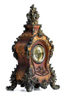 Free Clock, Wall Clock, Metal, Antique Stock Photography - 134930452