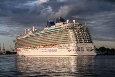 Free Cruise Ship, Passenger Ship, Ship, Waterway Stock Image - 134930501