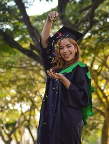 Free Academic Dress, Graduation, Tree, Event Stock Images - 134930604
