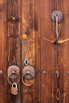 Free Wood, Brown, Wood Stain, Door Stock Photography - 134930612