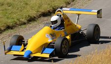 Free Car, Formula One Car, Formula Racing, Open Wheel Car Stock Photography - 134930912