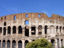 Free Coliseum Royalty Free Stock Photo - 1351065
