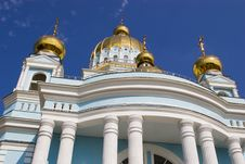 Free Orthodox Temple Stock Photography - 1351602