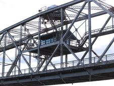 Free Control House On Duluth Lift Bridge Stock Image - 1351731