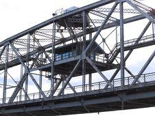 Control House On Duluth Lift Bridge Stock Image