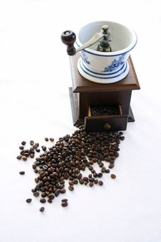 Old Coffe Grinder Royalty Free Stock Image