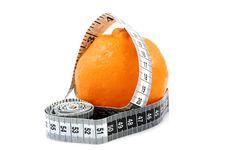 Free Orange With Tape Royalty Free Stock Photo - 1352445