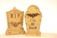 Free Gravestones Stock Image - 1352841