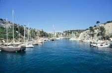 Free Calanques Royalty Free Stock Images - 1353409