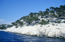 Free Calanques Royalty Free Stock Photography - 1353557