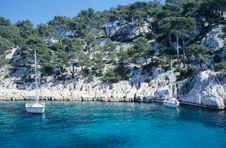 Free Calanques Royalty Free Stock Photography - 1353597