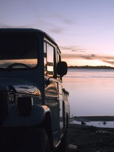 Free Pickup In The River Stock Photo - 1354470