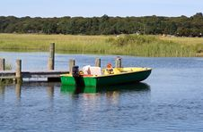 Free Motor Boat During Summer Day Stock Photo - 1354700