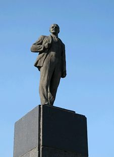Free Lenin S Monument Royalty Free Stock Photography - 1355147
