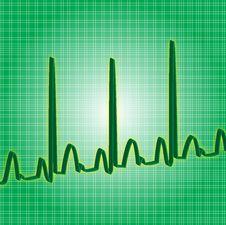 Free Heartbeat Green Stock Photo - 1355150