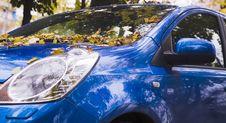 Free An Autumn Car Stock Photos - 1355483