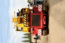 Crane Tank Royalty Free Stock Photo