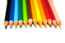 Free Pencils Royalty Free Stock Image - 1355786