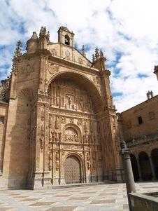Free San Esteban S Convent In Salamanca, Spain Stock Image - 1355811
