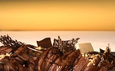 Free Chocolate Roll Stock Images - 1355884