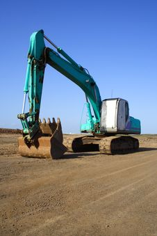 Free Earth Mover Royalty Free Stock Photo - 1355925