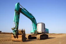 Free Earth Mover Royalty Free Stock Photography - 1355927