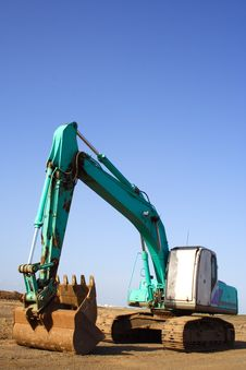 Free Earth Mover Stock Image - 1355951