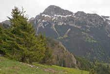Free Pic De Memise, French Alps, May 2006 Stock Photos - 1356943