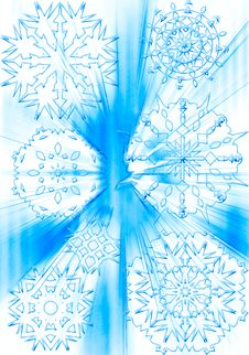 Free Snowflake Background Stock Photo - 1356970