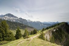 Free Pic De Memise, French Alps, May 2006 Stock Photography - 1357032