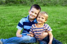 Free Boys Stock Photography - 1357162