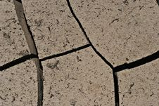 Free Cracked Earth Close Up Stock Images - 1357244