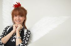 Free Hot Angel Royalty Free Stock Photo - 1357405