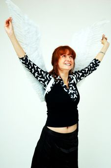 Free Smiling Angel Stock Photography - 1357432