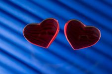 Free Two Heart Royalty Free Stock Photos - 1357638