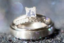Free Shallow Depth Of Field Photography Of Solitaire Ring Stock Photography - 135065842